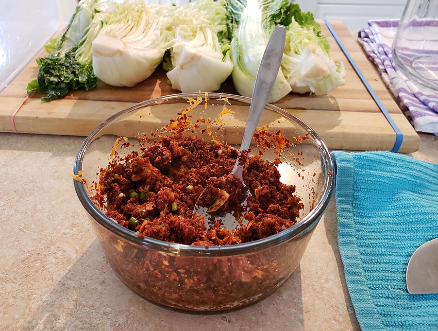 kimchi seasoning paste